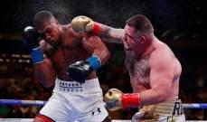 الملاكمان جوشوا ورويز يصلان السعودية استعداداً للمواجهة الثأرية بينهما