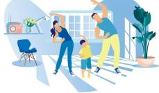 تمارين غير مؤذية للاطفال في المنزل