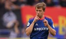 سيسكا موسكو الى المركز الثاني بعد الفوز على اخمات غروزني