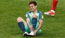لاعب منتخب البرتغال يترك المعسكر بسبب الإصابة
