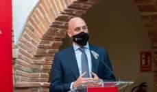 رئيس الاتحاد الاسباني مصاب بكورونا