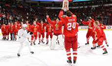 """""""خطأ"""" ارتكبته كندا بحق روسيا في بطولة العالم للهوكي"""