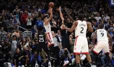 NBA: تورنتو يتراجع الى المركز الثاني شرقياً ودنفر يستعيد الصدارة غربياً