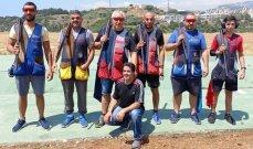 رماية: ناصيف سليمان بطل المرحلة الأولى من بطولة لبنان للتراب الفئة(أ)