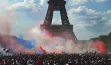 احتفالات جنونية في العاصمة الفرنسية !