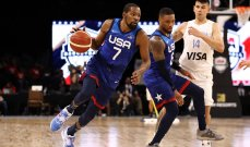 المنتخب الاميركي لكرة السلة يرد اعتباره بفوز على الارجنتين