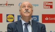 ديل بوسكي: تصرفات نيمار سيئة خارج الملعب