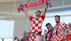 انطلاق مباراة الارجنتين وكرواتيا