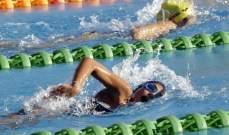 اربعة ارقام قياسية للاناث في المرحلة الاولى من بطولة السباحة