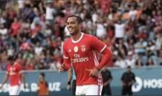 دي توماس مع بنفيكا: ثلاثة اهداف في ثلاث مباريات