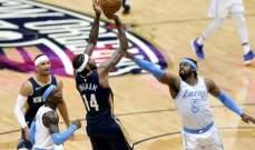 NBA : حامل اللقب يسقط للمرة الثالثة على التوالي بالخسارة امام بيليكانز