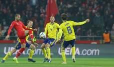 السويد تفوز على تركيا وترسلها الى المستوى الثالث