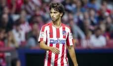 اتلتيكو مدريد يكشف تفاصيل اصابة جواو فيلكس