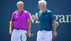لاعب التنس السابق مكنرو يتعافى من كورونا