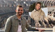 مايورال يدخل بعلاقة مع ملكة جمال ايطاليّة