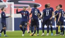 فرنسا تواجه الويلز وبلجيكا وديا قبل اليورو