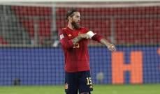 ريال مدريد يخسر جهود راموس في المباريات الثلاث المقبلة