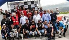 السباق الثاني للسرعة بمشاركة قياسية لـ76 سيارة  لقب المحترفين لروجيه فغالي