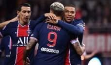 الليغ 1: باريس سان جيرمان يكمل صحوته بثنائية في مرمى ريمس