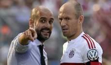 روبن: بيب غوارديولا سيد كرة القدم