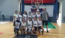 نتائج المرحلة الثانية لدورة آن ماري عبد الكريم السادسة بكرة السلة