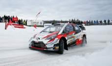 رالي السويد: تاناك يفوز ويتصدر الترتيب العام للسائقين