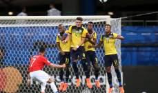 ألكسيس سانشيز  رجل مباراة تشيلي-الاكوادور