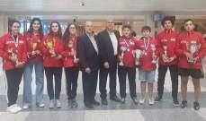 دورة الصداقة الدولية في كرة الطاولة 7 ميداليات للبنان منها 4 ذهبيات