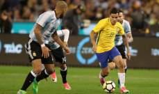 التشكيلة الرسمية للسوبر الكلاسيكو بين البرازيل والارجنتين