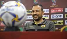 باسم مرمر: واثق من اللاعبين وقدرتهم على إحراز اللقب