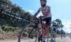 الدراج الكولومبي جافيريا يشكر الإمارات بعد تعافيه من كورونا