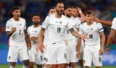 لا تغييرات منتظرة في تشكيلة ايطاليا للنهائي