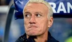 ديشان يعطي رايه بفوز فرنسا