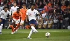 برشلونة يجدد اهتمامه بضم راشفورد
