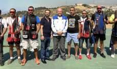 رماية: ألان موسى بطل المرحلة الخامسة من بطولة لبنان للتراب الفئة (أ) ممتاز