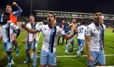 اركسون: لاتسيو يستطيع الفوز بلقب الدوري الايطالي