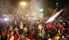 الاف الجزائريين يصلون الى القاهرة