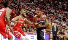 NBA: هيوستن يسقط بعد وقت اضافي والخسارة السادسة لميلووكي هذا الموسم