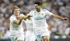 اسينسيو يتحدث عن الفترة الحالية والسابقة لريال مدريد