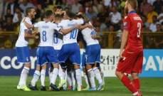 ارقام قياسية مميزة لايطاليا بعد الفوز على ارمينيا