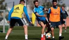 ريال مدريد يبدأ استعداداته لموقعتي الكلاسيكو