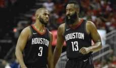 NBA PLAYOFFS: هيوستن يفتتح سلسلة نصف النهائي بفوز على يوتا