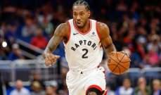 NBA: تورنتو يعزز صدارته شرقياً والكليبرز يتصدر غربياً