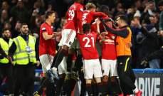 علامات وأهداف لاعبي مباراة تشيلسي - مانشستر يونايتد