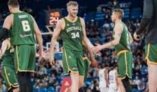الاستراليون يتخطون الكنديين في افتتاح مباريات الفريقين في كاس العالم لكرة السلة