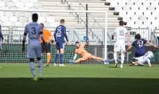 الدوري الفرنسي: بوردو يحرز الفوز على حساب انجيه