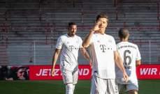 بايرن ميونيخ يعزز صدارته بفوز صعب امام يونيون برلين