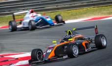 راشد غانم  يحرز المركز الثاني في بطولة اسبانيا في الفورمولا-4