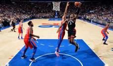 NBA: تورنتو مستمر بملاحقة ميلووكي ونيويورك يسقط للمرة ال 14 المتتالية