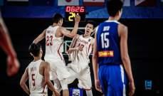 الصين تحرز المركز الثالث في بطولة اسيا لكرة السلة تحت 18 عاماً